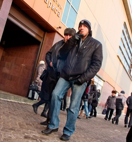 People on the street / On the street / Novosibirsk / Siberia / 29.12.2011